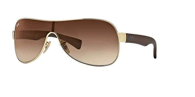 c0b6dce518 Ray-Ban RB3471 001 13 32M Arista Brown Gradient Sunglasses For Men For
