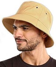 Bucket Sun Hat for Men & Women - UPF 50 UV Protection Packable Summer Fisherman Cap for Fishing, Safari, B