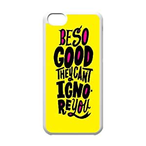 Bible N Skull be so Good They Can't Ignore You IPhone 5C Cases, Hardshell Case for Iphone 5c for Boys {White}