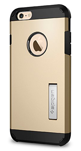 Spigen Tough Armor iPhone 6S Plus Case with Kickstand and Heavy Duty...