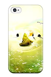 New Style 9692226K86037933 High-quality Durable Protection Case For Iphone 4/4s(creative Rainbow)