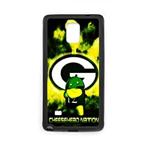 Sport NFL football GREEN BAY PACKERS Hard Plastic Cover case Just do it design SamSung Galaxy NOTE 4 Case?¨º? NFL GREEN BAY PACKERS style 6