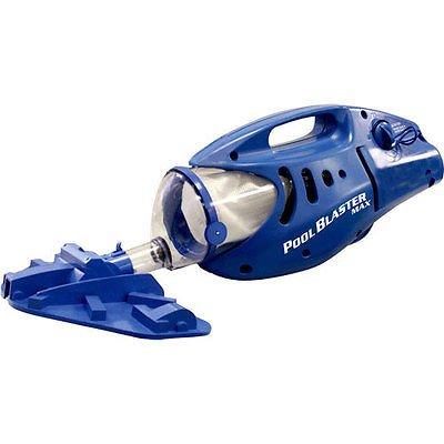 New Water Tech Pool Blaster Max Handheld Battery Swimming Pool Cleaner Vacuum