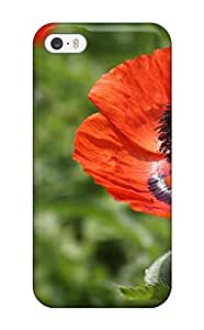 Iphone Case - Tpu Case Protective For Iphone 5/5s- Poppy Flower