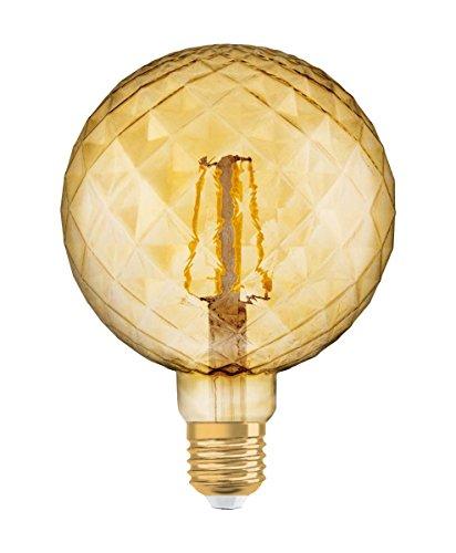Osram Vintage 1906 LED Bombilla Led Bombilla LED E27 2500k 4.5W - 40W, Blanco