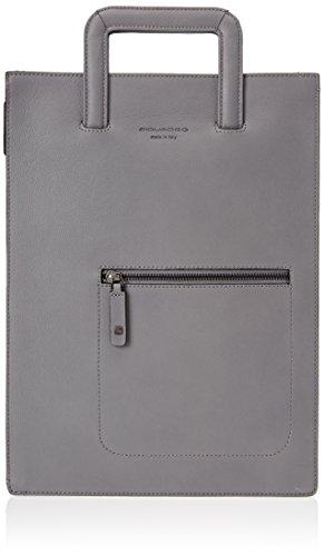Piquadro Ac4099w86 - Bolso de mano Unisex adulto gris
