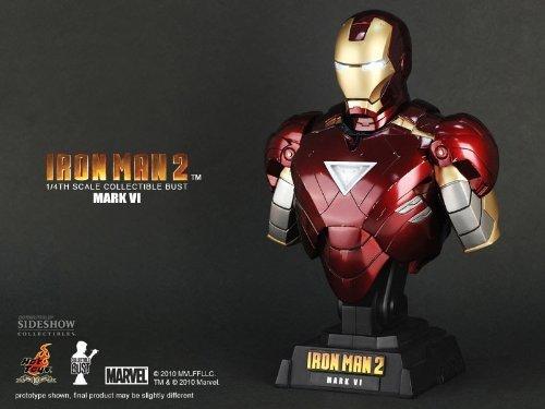 Iron Man 2 Iron Man Mark VI (1/4 scale bust) (Iron Man 2 Mark Vi Hot Toys)