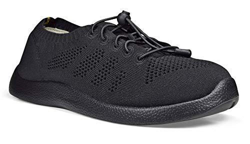 SoftScience The Tradewind Men's Lace-Up Athleisure Shoes - Black, Size 12