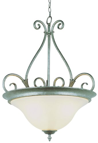 Trans Globe Lighting 6390-1 PW Indoor Symphony II 13'' Flushmount, Pewter by Trans Globe Lighting (Image #1)