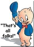 Porky Pig Refrigerator Magnet