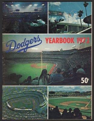 1972 Los Angeles Dodgers Yearbook