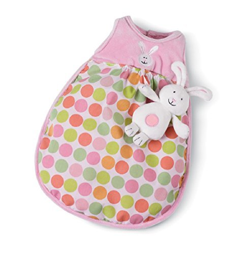 (Manhattan Toy Baby Stella Snuggle Sleep Sack Baby Doll Accessory for 15