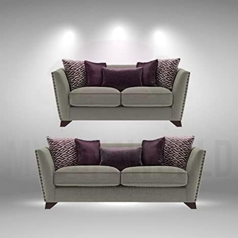 Nazca nuevo diseño sofá suite 3 + 2 plazas con gran ...