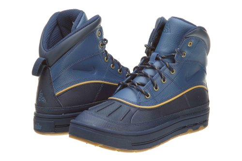 NIKE Woodside 2 High (GS) ACG Boys Boots 524872-400 Utility Blue 5 M US ()