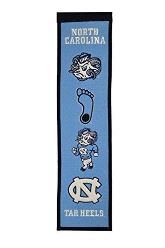 Winning Streak Sports NCAA North Carolina Tar Heels Heritage Banner ()