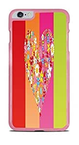 Colorful Hearts Pink Hardshell Case for iphone 4 4s