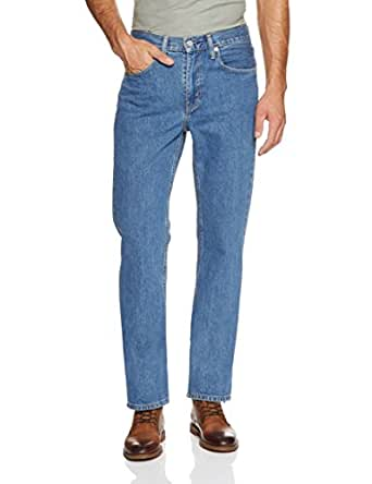 Levi's Men's 516 Straight Jeans, Stonewash, 29 30