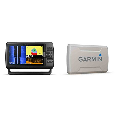 (Garmin STRIKER Plus 9sv with CV52HW-TM Transducer and Protective Cover, 9 inches 010-01875-00)