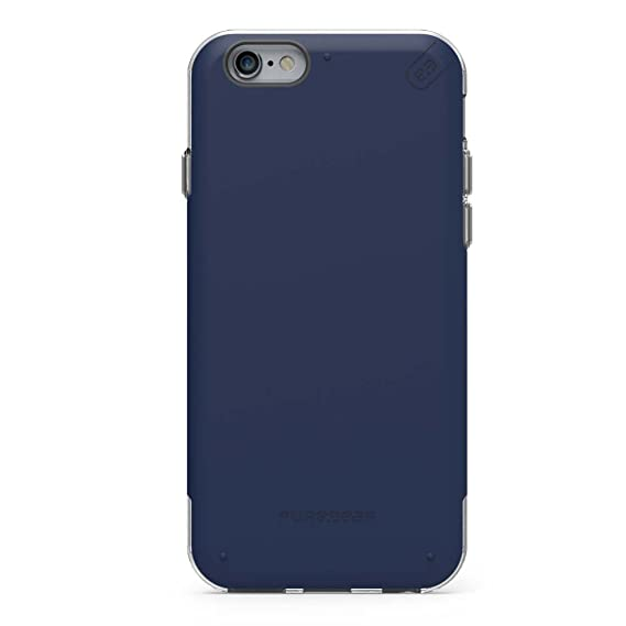 release date: a6edd 220d6 PureGear DualTek PRO for iPhone 6s Plus/6 Plus - Blue/Clear