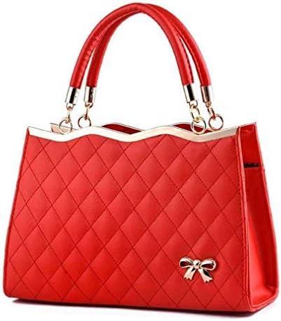 婦人用バッグ、カジュアルハンドバッグ、女性用PUレザーハンドバッグ、赤、30 * 20 * 10 Cm 美しいファッション