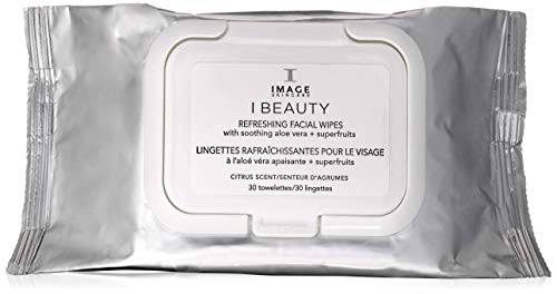 Image Skincare Beauty Refreshing Facial Wipes, 30 Count from Image Skincare