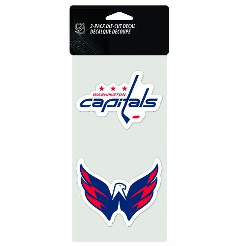 NHL Washington Capitals 2-Piece Die-Cut Decal, 4