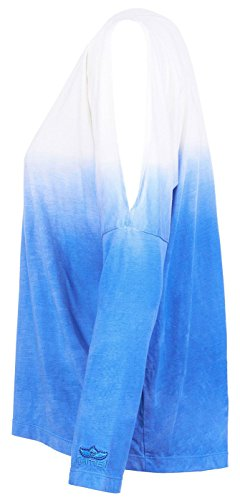 KAMAH Mujer Manga Larga azul