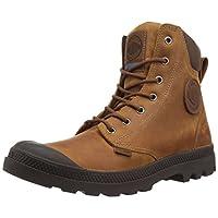 Palladium Boots Pampa Cuff Wp Lux, Color: Sunrise/Carafe, Size: 10.5 (73231-733-M-10H)