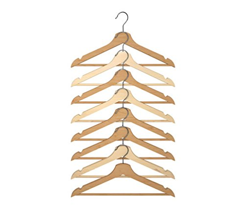 Ikea Wood Clothes Hanger, 8 Pack, Natural