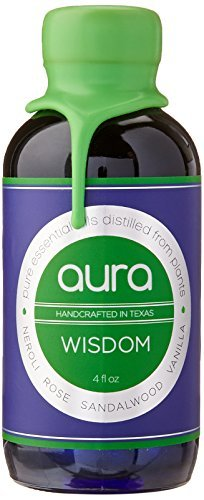 Wisdom Aromatherapy (goobsi Wisdom Aura Aromatherapy Mist Spray for Home & Body Made with Pure Essential Oils, 4 fl. oz. by goobsi)