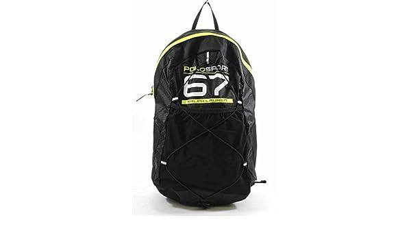 Ralph Lauren Polo Sport - Mochila de gimnasio, color negro: Amazon ...