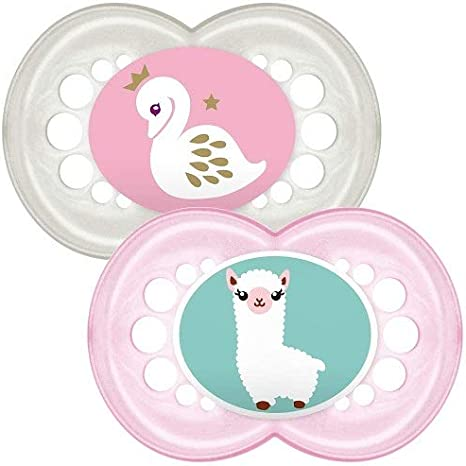 months Pack of 2 MAM Original Baby Dummies 0 Designs may vary