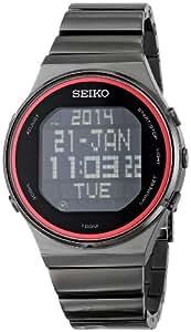 Seiko Men's STP013 Digital Display Japanese Quartz Silver Watch