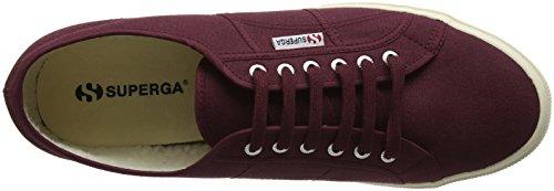 Superga 2750- COBINU S002KI0, Zapatillas de lona Unisex Rojo (A77 Bordeaux)