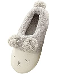 Women's Soft Sole Plush House Slippers