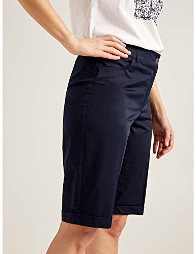 Pantaloni Corti Blu Cotone Elena Size In italian Mirò 5wP61PxOqa