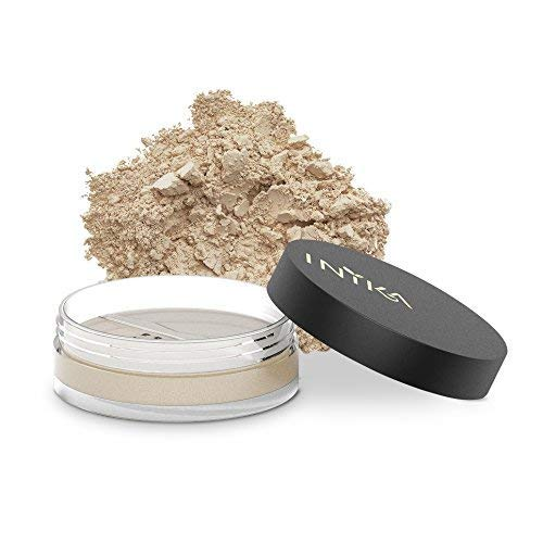 - INIKA Loose Mineral Foundation Powder SPF25 All Natural Make-Up Base, Concealer, Flawless Coverage, Water Resistant, Hypoallergenic 8g (0.28 oz) (Unity)