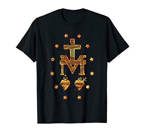 Miraculous Medal Shirt Vintage Catholic gift idea