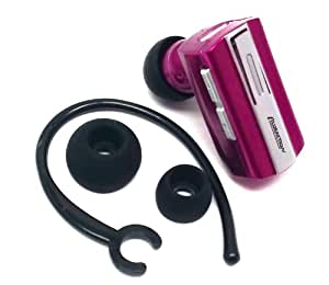 Importer520(TM) wireless bluetooth BT headset headphone earphone earpiece with dual pairing For Samsung Transfix R730 - Hot Pink
