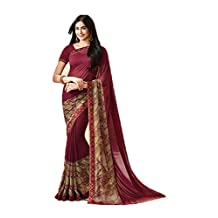 Saree for Indian Women wedding outfit Designer Dress Party wear Multi Color Saree.