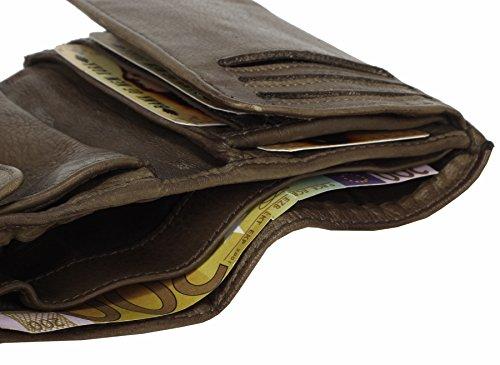 Reptile monnaie cuir Billy Porte the Kid 14 Khaki cm qafn7SEwx