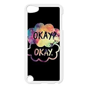 iPod Touch 5 Phone Case White OKAY JG235548