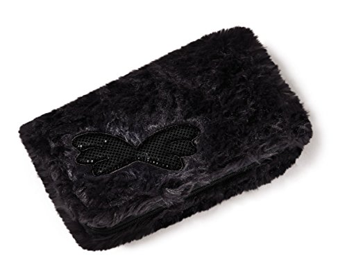 NICI - Oveja Jolly Mäh, billetera antracita con alas, peluche de 16 X 9,5 cm (39853)