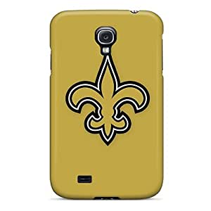 Galaxy S4 Hard Back With Bumper Silicone Gel Tpu Cases Covers New Orleans Saints 6