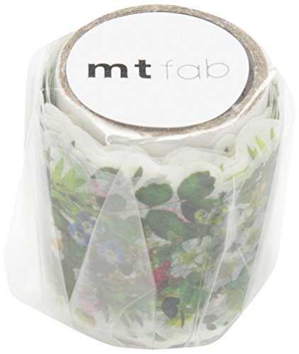 MT Washi Cut-Out Masking Tape, Green, 38mm x 3m (MTKT1P04)