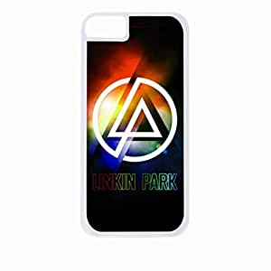 Linkin Park-Colorful-Hard White Plastic Snap - On Case-Apple Iphone 5C Only - Great Quality!