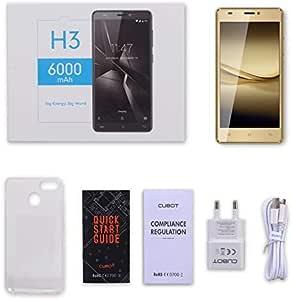 LmqhGzuqume CUBOT H3 5 Pulgadas 3G + 32G 6000mah Android7.0 Touch ...