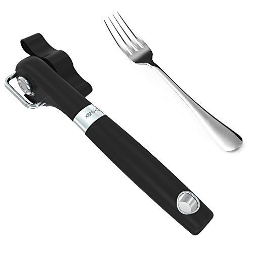 Can Opener with a Fork XBNIAO