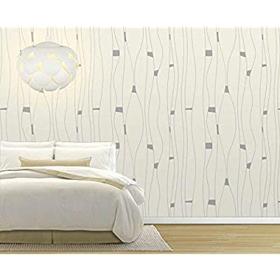 Large Wall Mural Abstract Lines Pattern Vinyl Wallpaper Removable Decorating, Premium Creation, Gorgeous Piece of Art