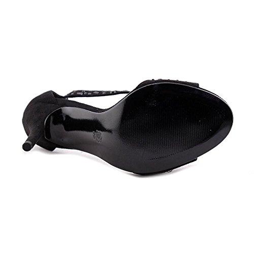 Womens Caparros Pumps Toe Open Strap T Black Classic Esther dqrqPT